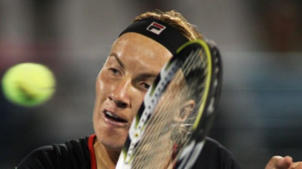 Svetlana Kuznetsova is one of only a handful of players to go through in Paris before it chucks it down. Again.