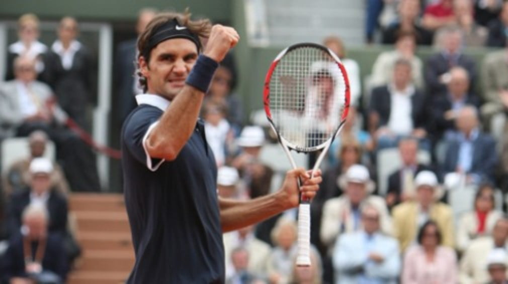 Roger Federer reaches his third French Open final after surviving a spirited performance from Gael Monfils