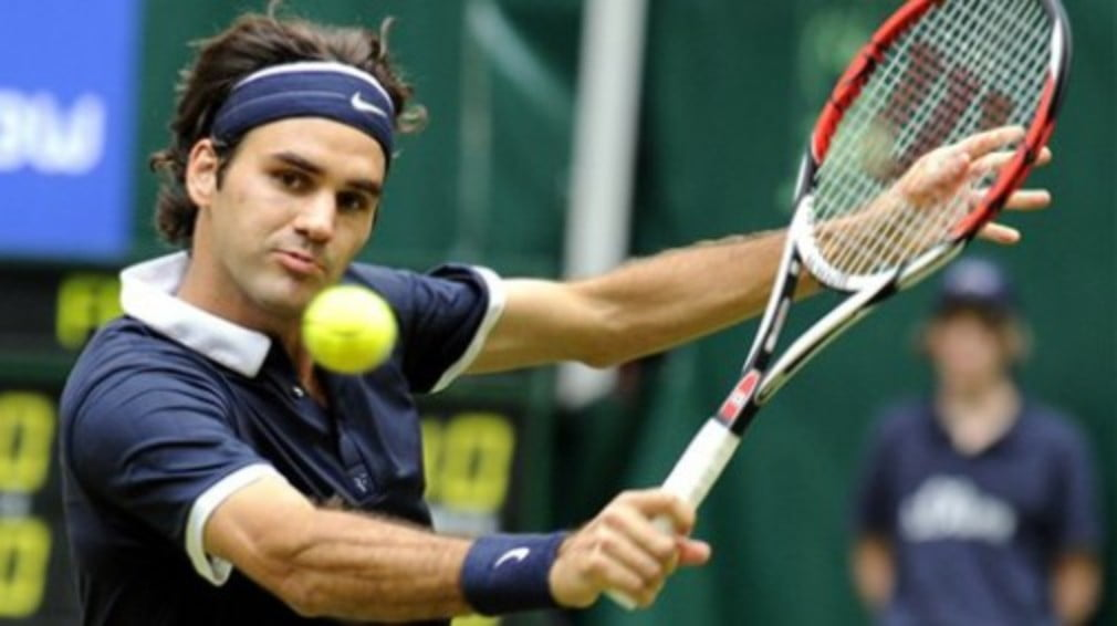 The world No.1 claimed the Gerry Weber Open title without dropping serve once throughout the tournament...