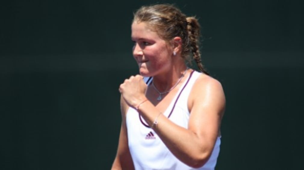 The Russian ensured that Ana Ivanovic retains her place at the top of the rankings for now after crushing Jankovic in LA