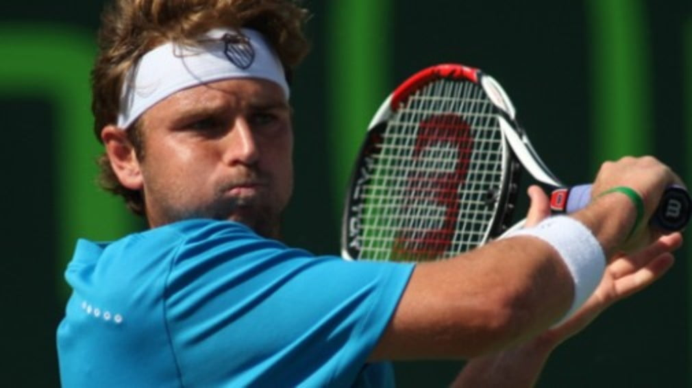 Just the one Tour event taking place this week and Mardy Fish gets off to a fryer in LA. Sorry