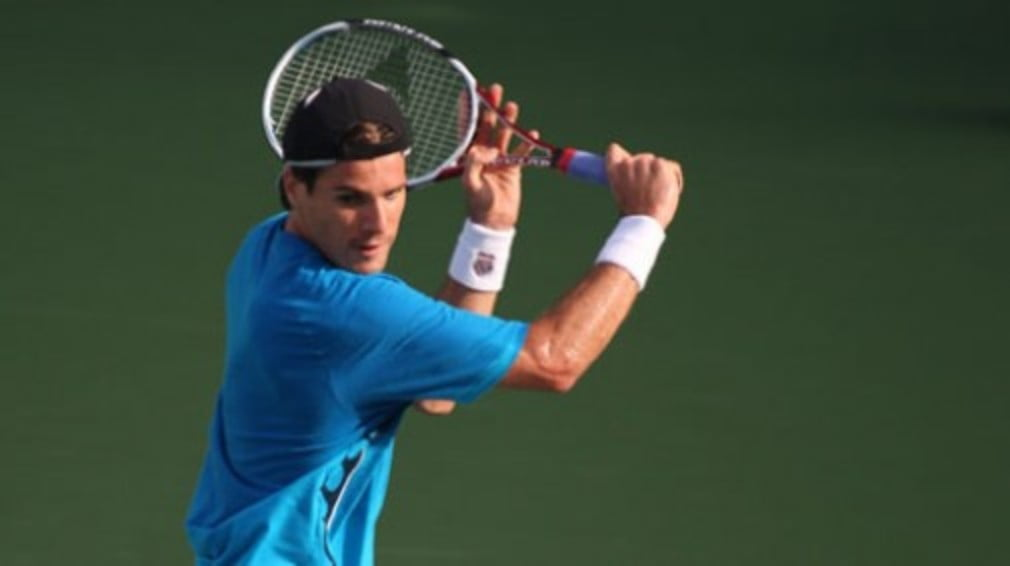 Tommy Haas was the biggest casualty at the Countrywide Classic on Tuesday