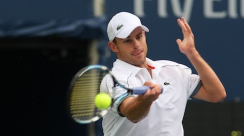 The American was pushed hard by Eduardo Schwank in round two of the Legg Mason Classic