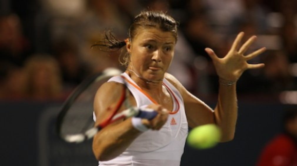 She wasn't even in the original Olympic squad - but Dinara's victory over Jelena Jankovic puts a medal a win away...