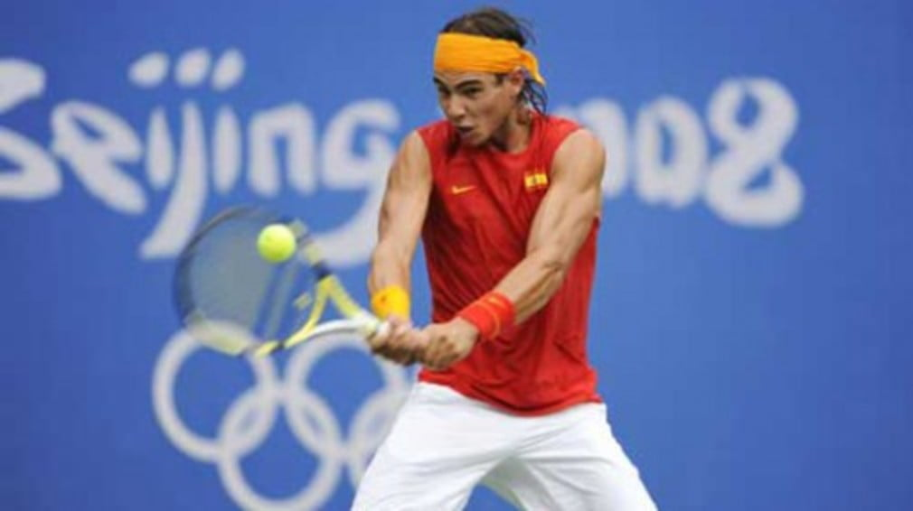 The Spaniard claims Olympic gold with victory over Fernando Gonzalez