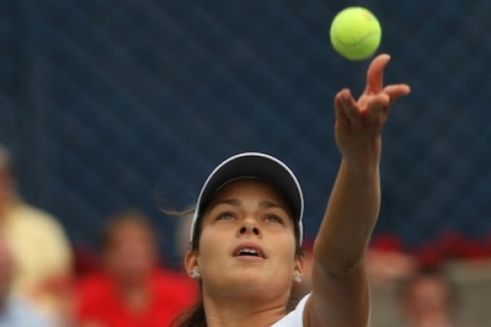 The world No.1 crashed out in the second round of the US Open to first-time French qualifier Julie Coin...