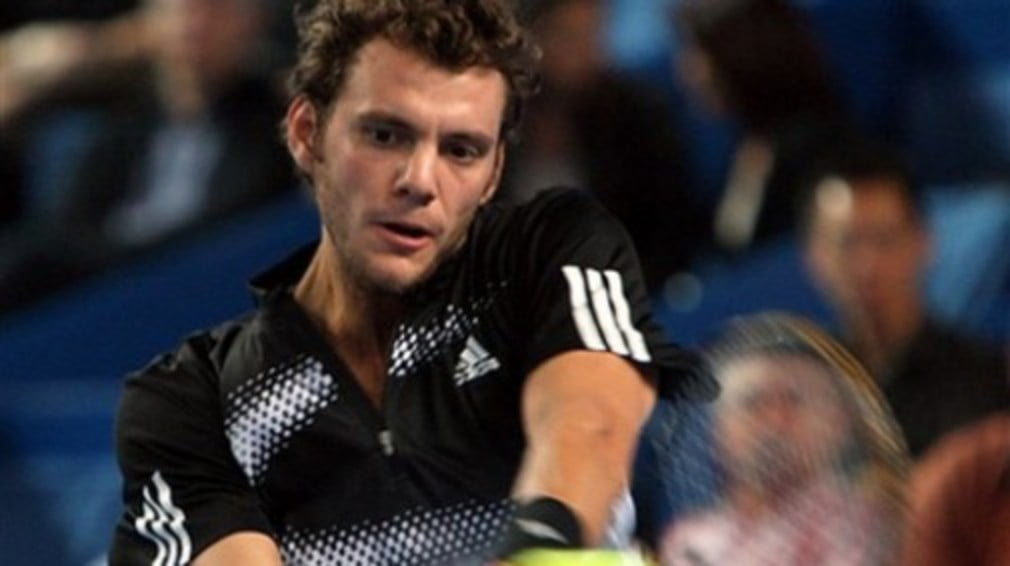 The Frenchman saw off Carlos Moya to win the BCR Open