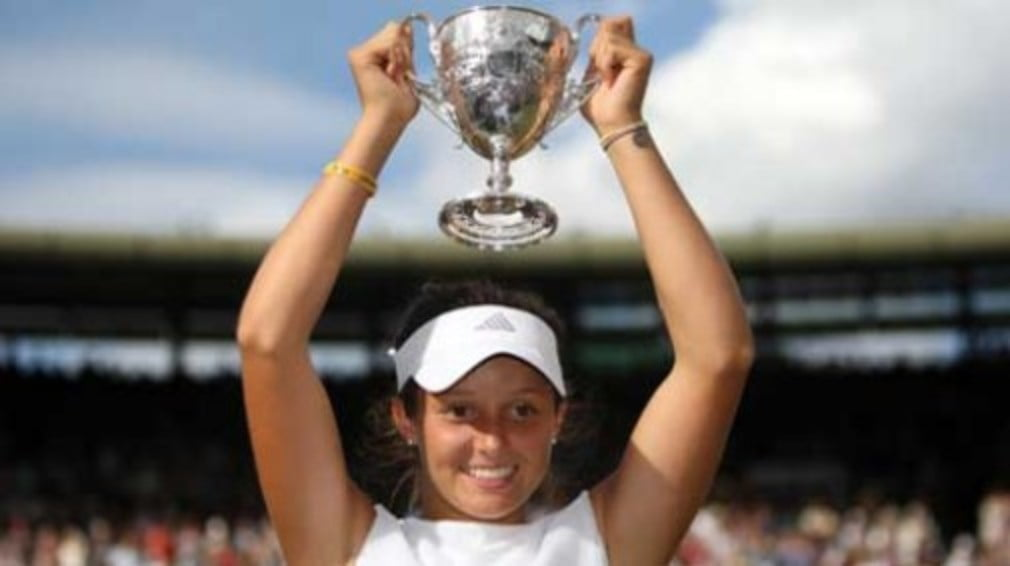 All eyes will be on Laura Robson in Shrewsbury today when she plays her first professional match on British soil.