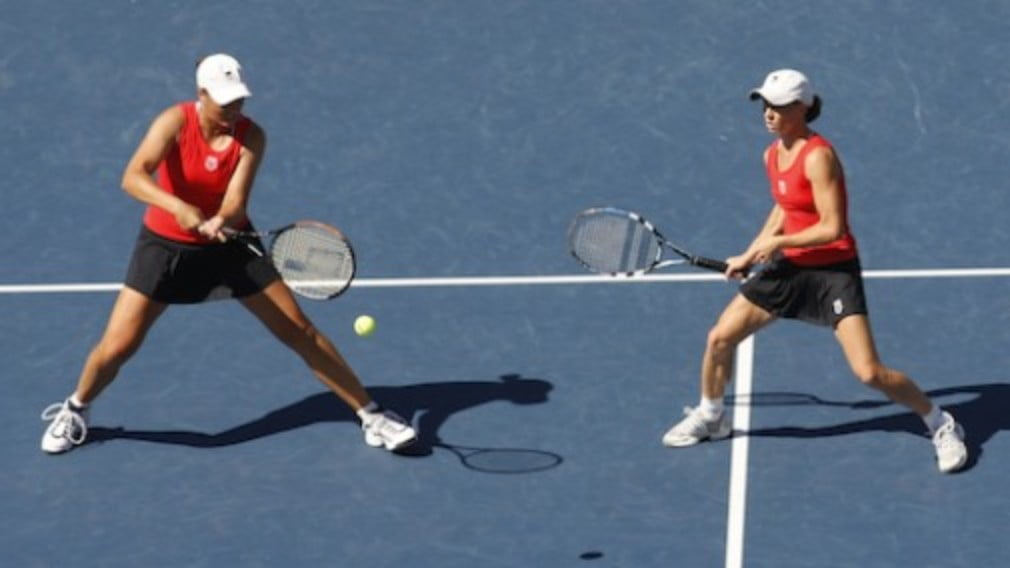 The semi-final line-up for this weekends 2008 Sony Ericsson Championships doubles event has been decided