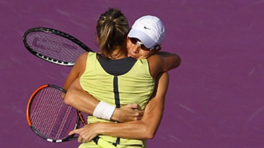 The Aussie/Czech duo claimed their spot after a champion's tie-break took them past Ai Sugiyama and Katarina Srebotnik - Cara Black and Liezel Huber are through too...