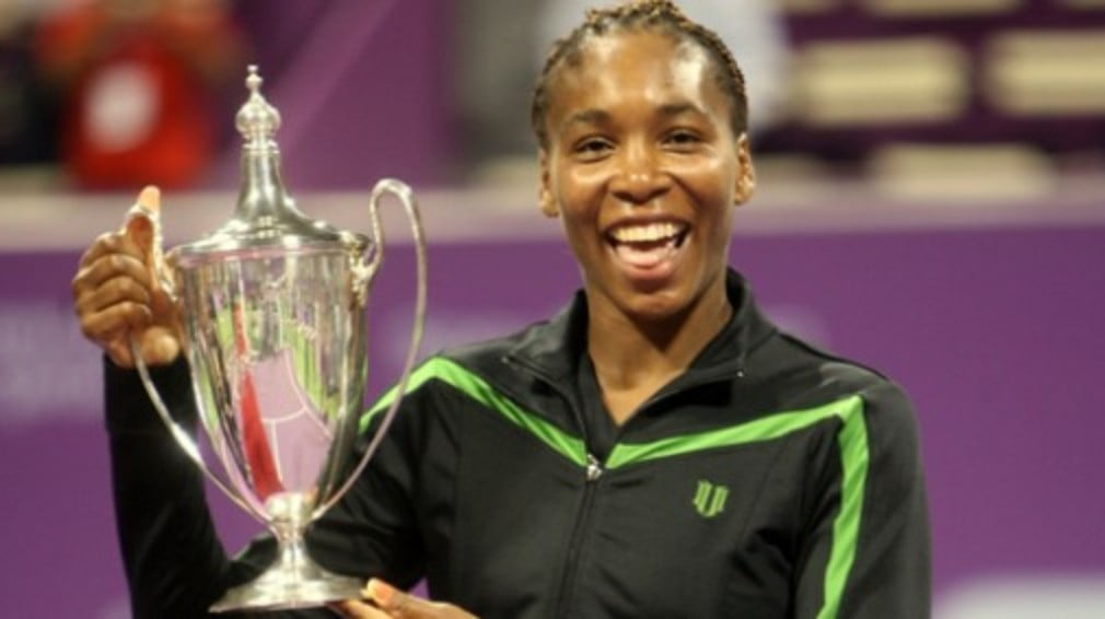 The seven-time Grand Slam champion finally got her hands on the elusive year-ending title