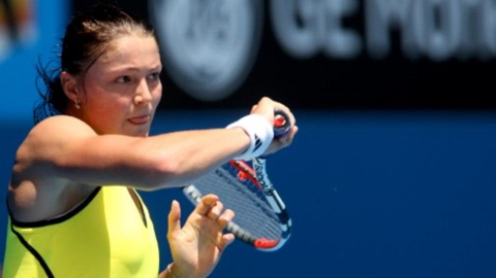 The Russians barely broke a sweat as Dinara Safina
