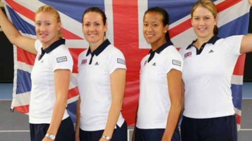 The AEGON GB Fed Cup team now knows which three nations they must get past in Estonia this week.