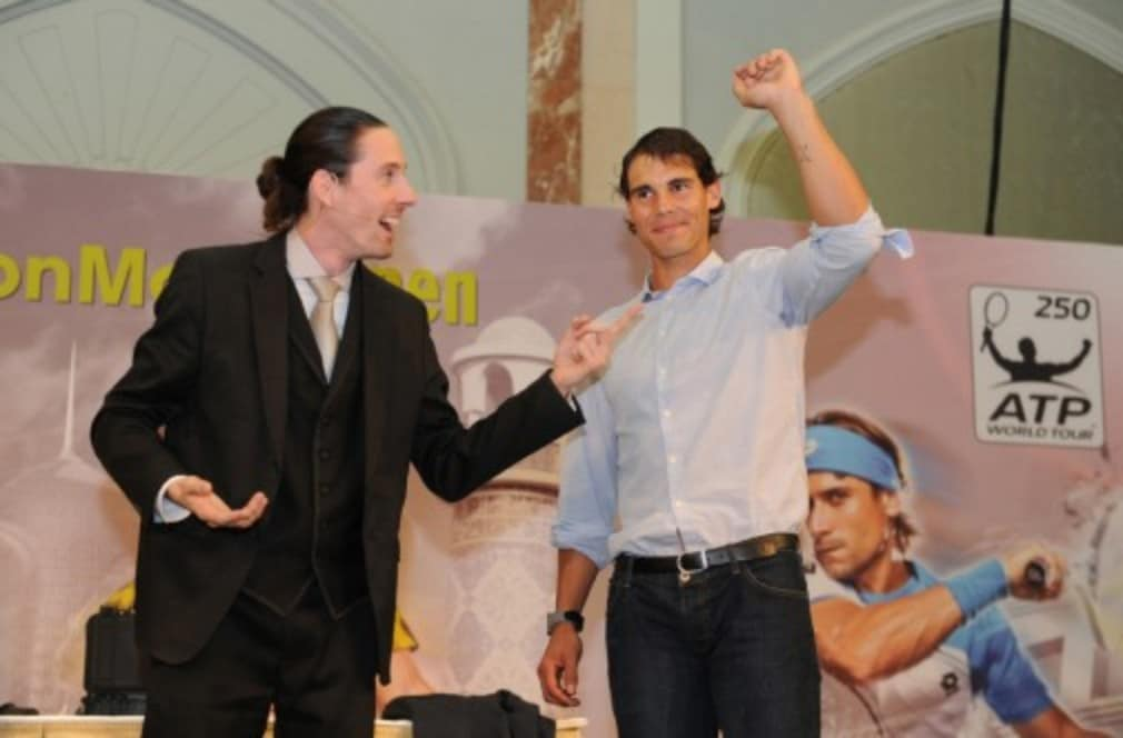 Rafael Nadal believes that recent treatment on his knees has made him feel more comfortable in life away from the court and means that he is able do more things than simply play tennis