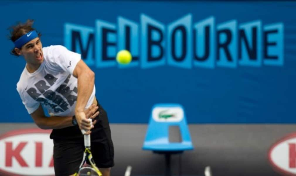 Rafael Nadal will face an early test in the shape of home favourite Bernard Tomic in a blockbuster first-round match at the Australian Open