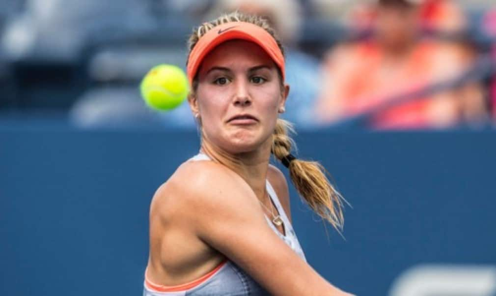 Eugenie Bouchard became the first Canadian to win a Grand Slam singles title when she lifted the girlsŠ—È trophy at Wimbledon last year