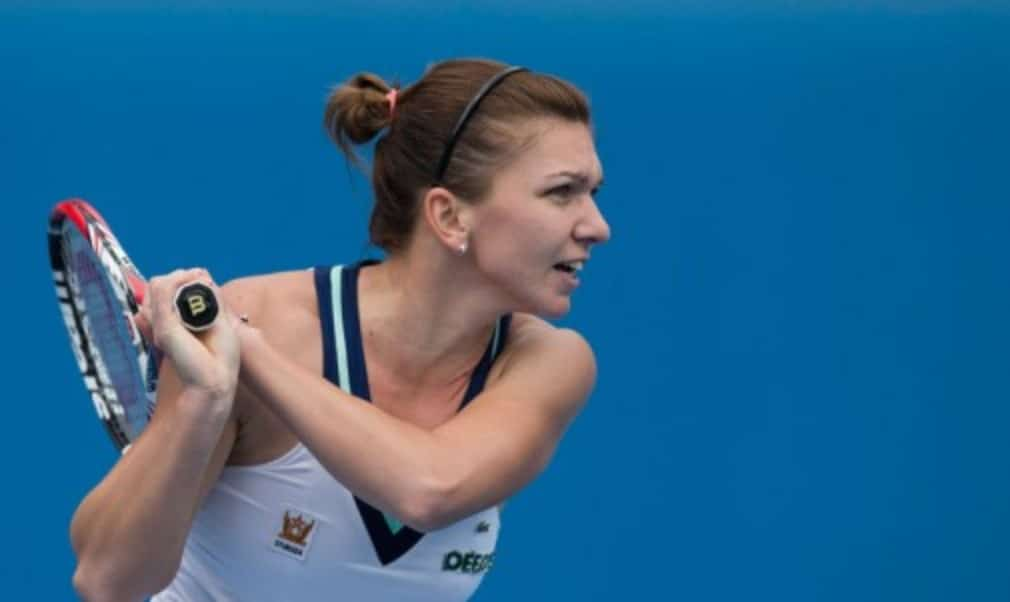 Simona Halep says she will head home to Romania for a few days after picking up an Achilles injury