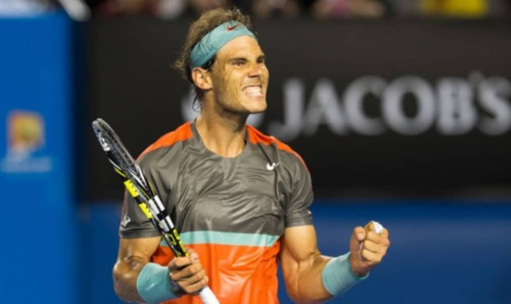 Rafael Nadal picked up his second trophy of the season as he won the inaugural Rio Open with victory over Alexandr Dolgopolov