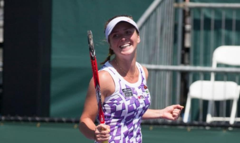 Elina Svitolina's run to the fourth round at the Sony Open in Miami sees her move up to world No.35  - the highest-ranked teenager in the WTA rankings