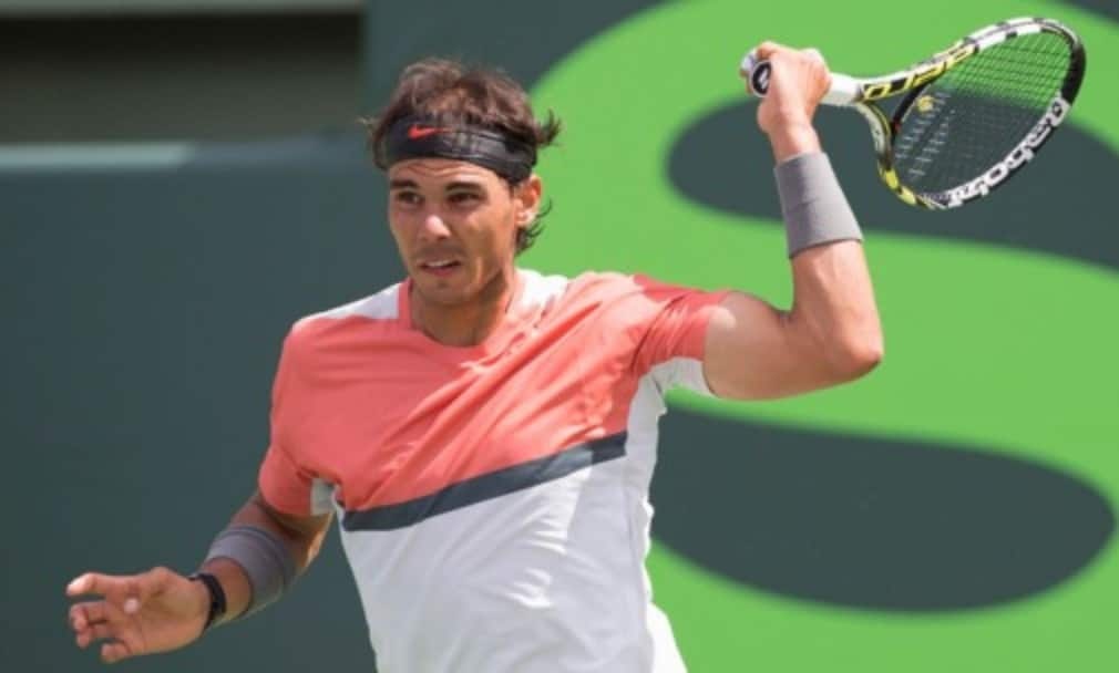 Rafael Nadal won the Mutua Madrid Open for a fourth time after holding off a strong challenge from Kei Nishikori
