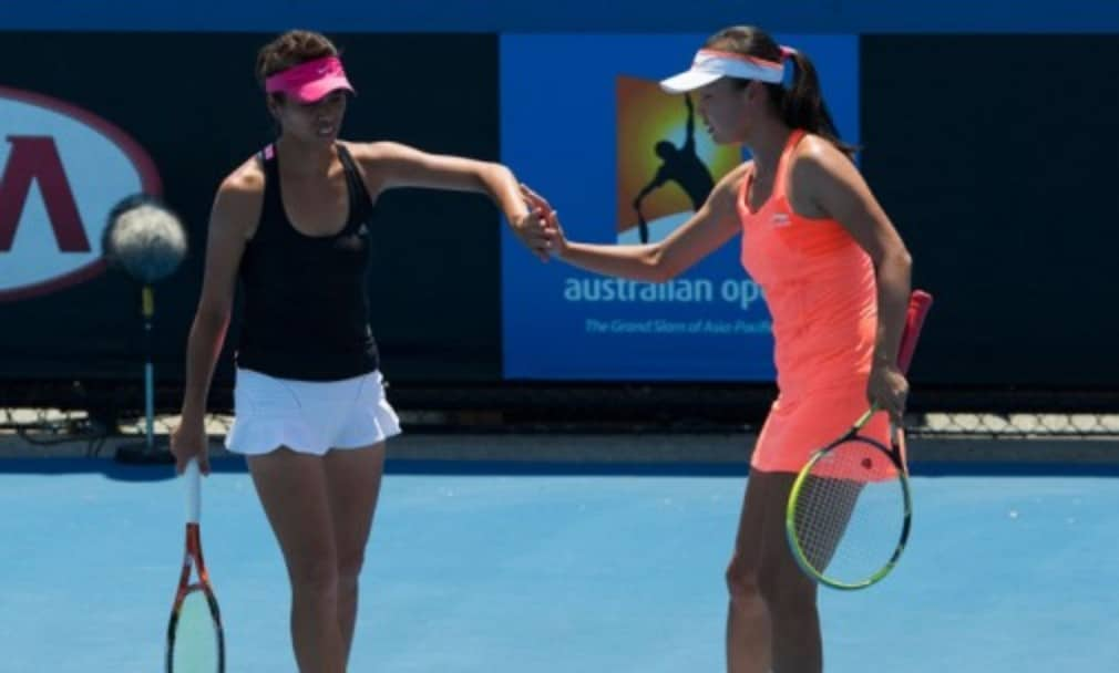 Hsieh Su-Wei and Peng Shuai have become the 10th doubles team to be co-world No.1s after Hsieh joined her partner at the top of the WTA rankings