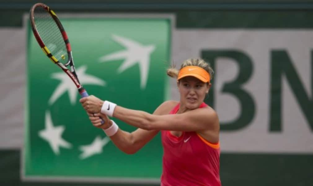 Eugenie Bouchard is hoping itŠ—Ès third time lucky when she meets her childhood idol Maria Sharapova in the semi-finals of the French Open on Thursday