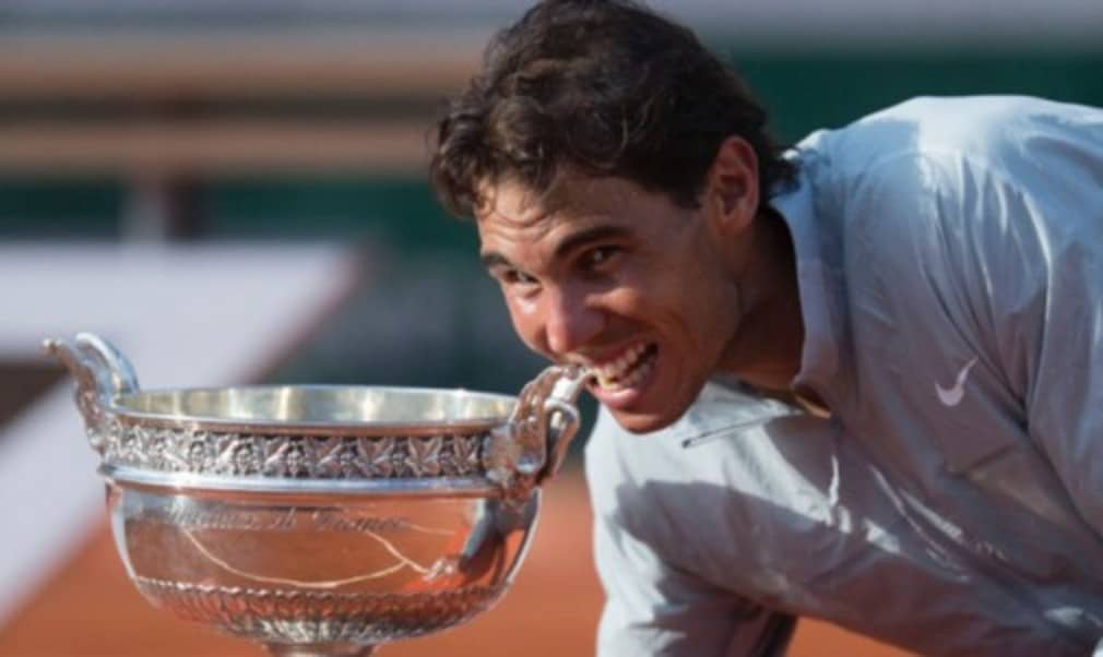 Rafael Nadal became the first man in history to lift the same Grand Slam title nine times and the first to win Roland Garros for five successive years after beating Novak Djokovic in a captivating final