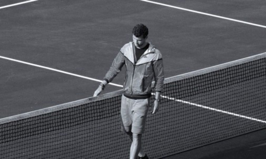 Grigor Dimitrov joins Maria Sharapova and Rafa Nadal to showcase NikeŠ—Ès new Tech Pack Hyperfuse collection