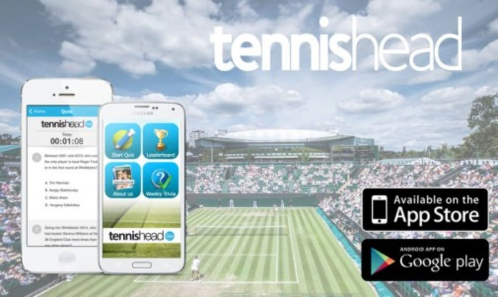 Test your tennis knowledge and download the tennishead quiz app today!