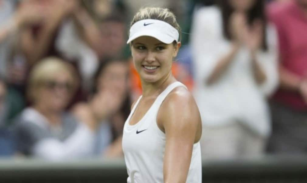Eugenie Bouchard became the first Canadian to reach a Grand Slam singles final after beating Simona Halep 7-6(6) 6-2
