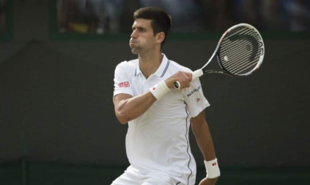 Novak Djokovic reached his third Wimbledon final in the last four years with a hard-fought victory over Grigor Dimitrov