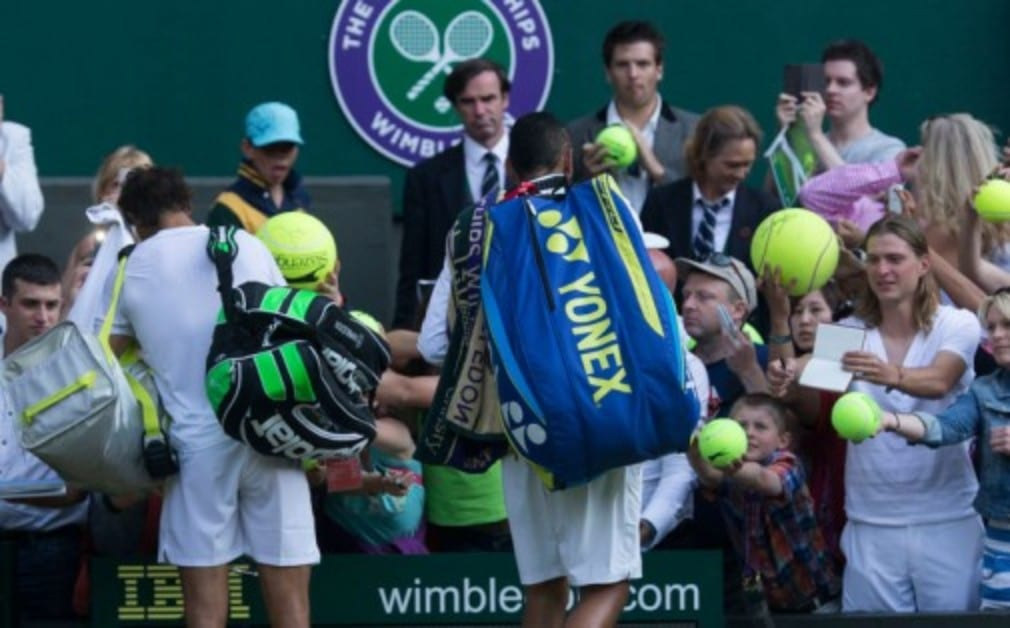 We've got five tins of the official Wimbledon ball up for grabs in our fantastic competition