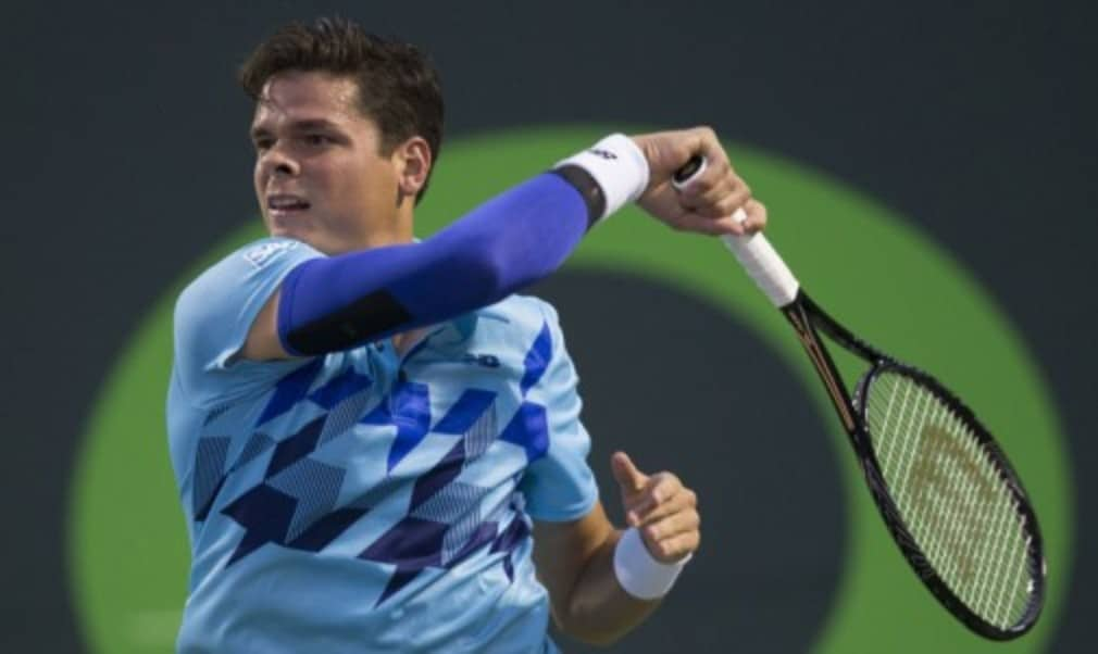 Milos Raonic is straining at the leash. Three weeks removed from his Wimbledon semi-final defeat by Roger Federer