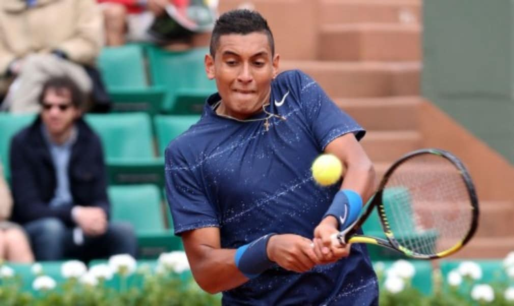Andy Murray's first match since Wimbledon comes against one of the stars of the Championships - Australian teen Nick Kyrgios