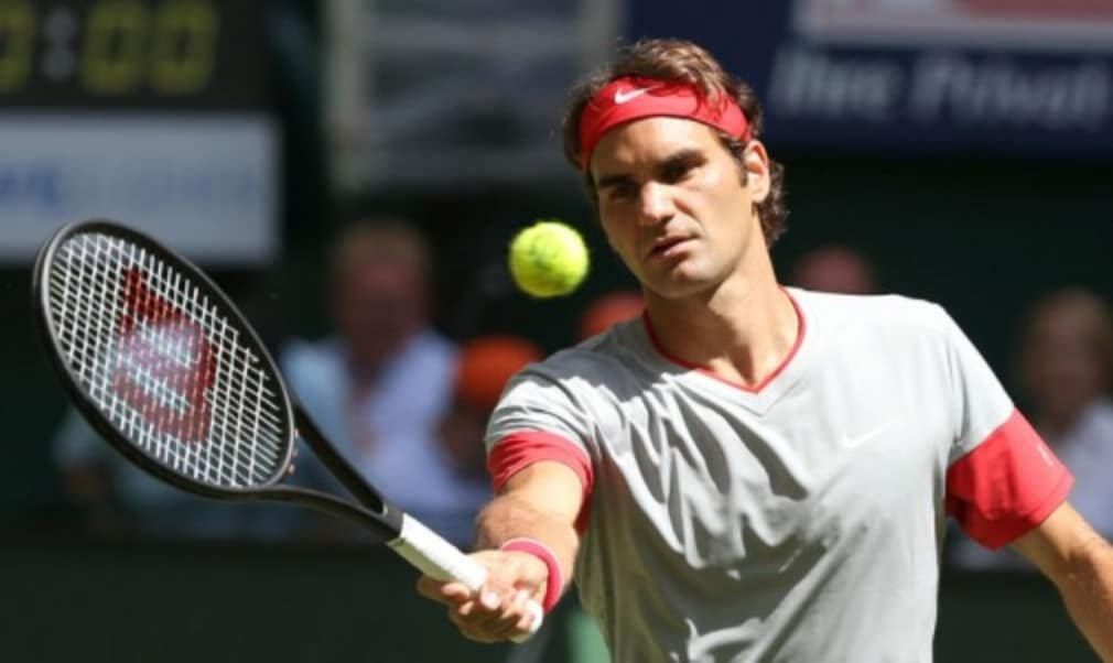 Roger Federer will face Feliciano Lopez in the semi-finals of the Rogers Cup on a day that all four quarter-final matches went three sets