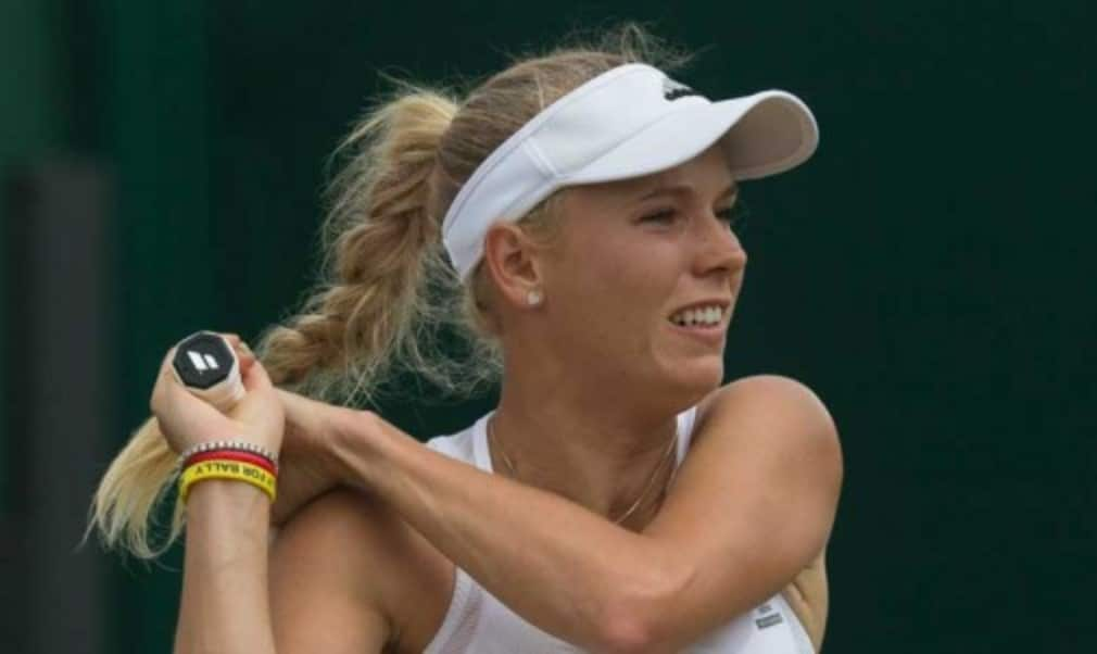 Caroline Wozniacki believes she is hitting her best form ahead of the US Open after winning her opening match at the Western & Southern Open in Cincinnati