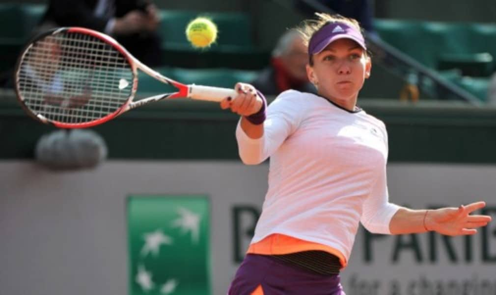 Top seed Simona Halep was stunned by Magdalena Rybarikova in her first match in New Haven as Petra Kvitova got off to a flying start