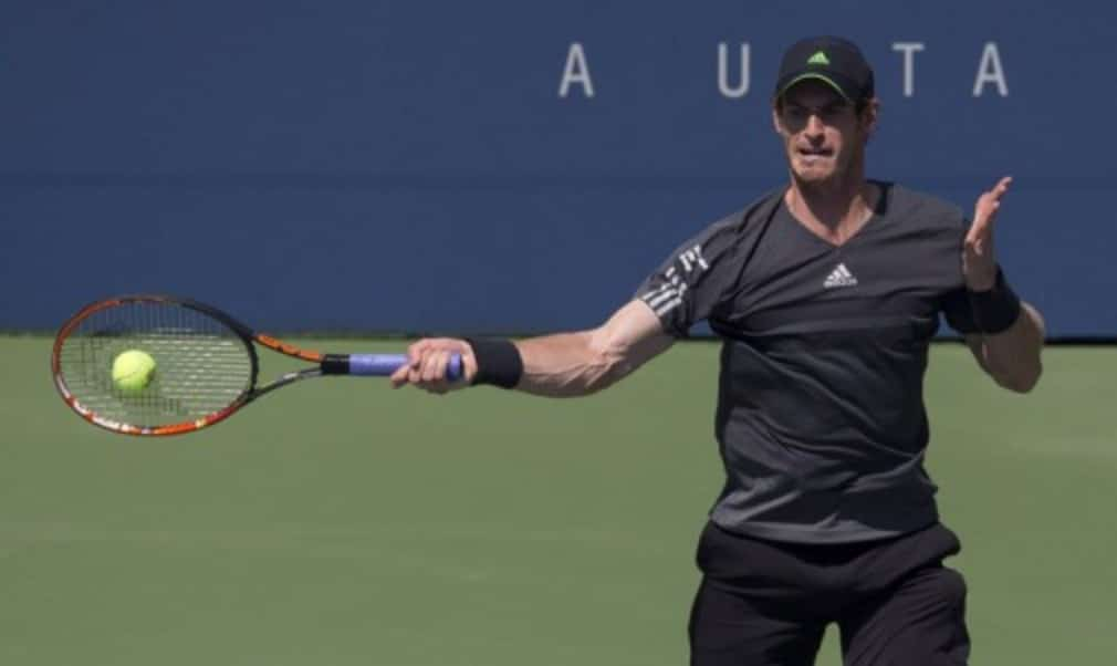 Andy Murray overcame a series of cramps during his US Open first-round win over Robin Haase.