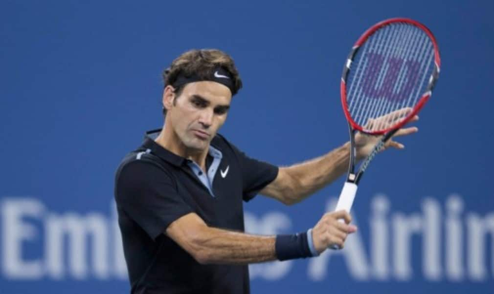 Your backhand might not be as smooth as Roger Federer's