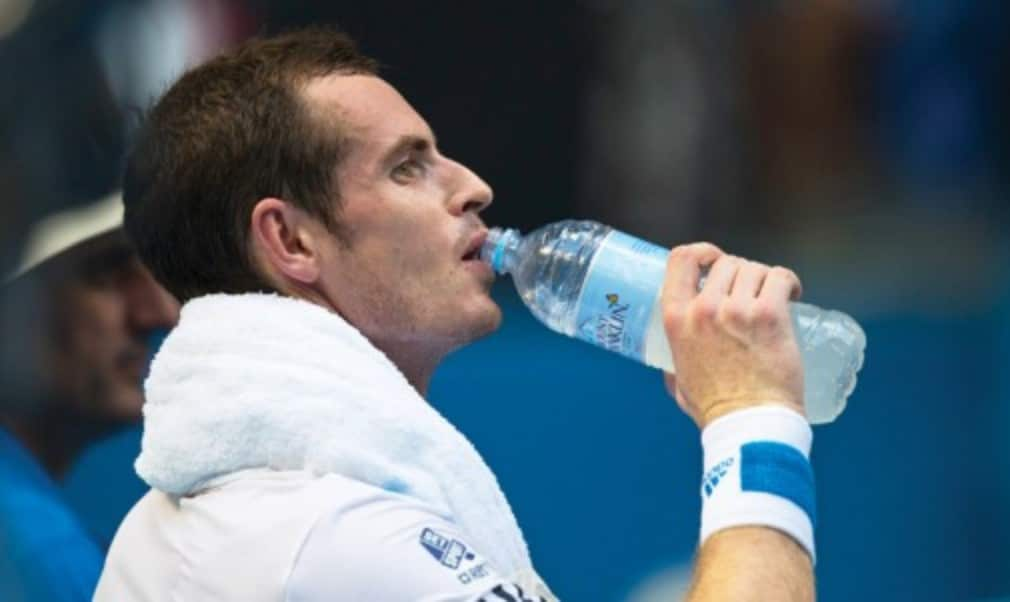 Replacing lost fluids and electrolytes is vital to maintaining on-court performance