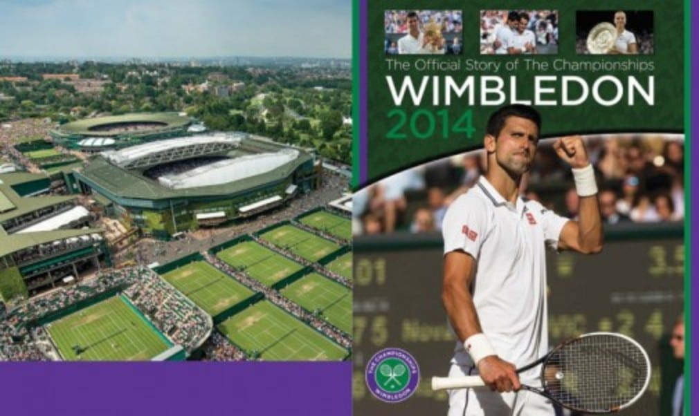 We've got 10 copies of Wimbledon 2014: The Official Story of The Championships to give away