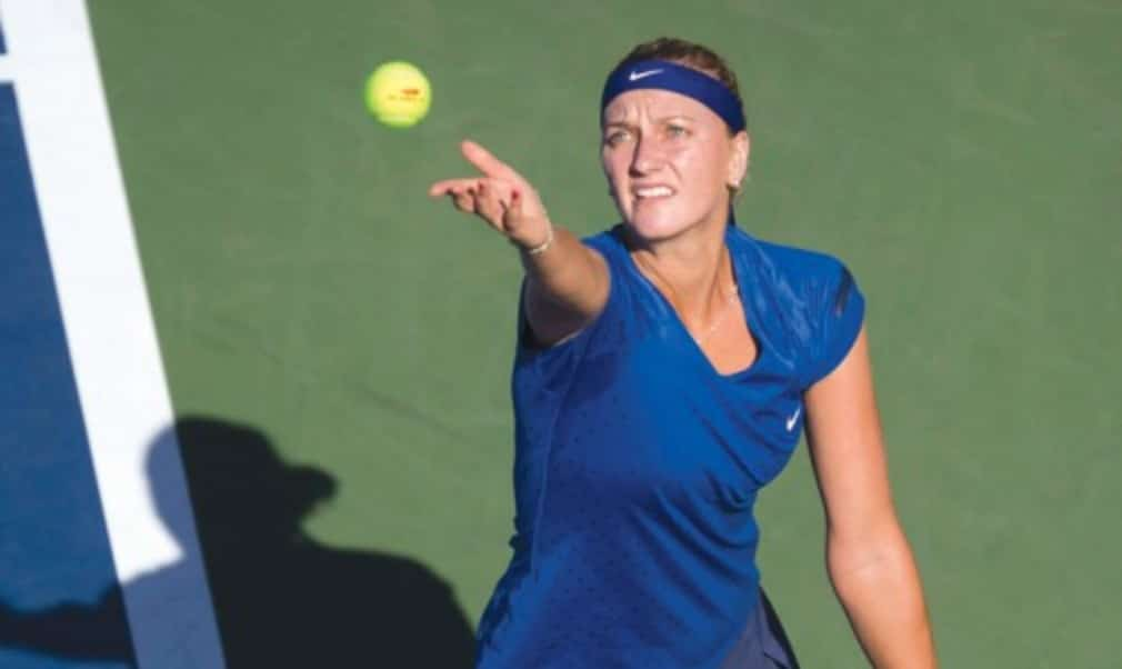 Petra Kvitova took a step closer to qualification for the WTA Finals as she reached the semi-finals of the Dongfeng Motor Wuhan Open