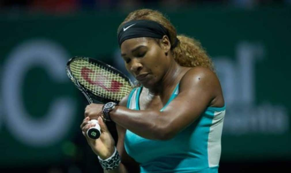 Simona Halep dealt Serena Williams her heaviest defeat in 16 years as she claimed the biggest win of her career at the WTA Finals in Singapore