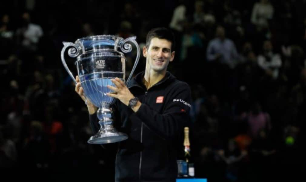 Novak Djokovic sewed up the world No.1 ranking for a third time in four years as he reached the last four at the Barclays ATP World Tour Finals in London