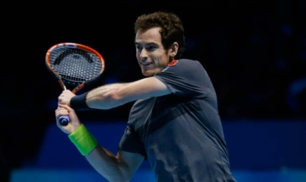 Novak Djokovic paid tribute to Andy Murray for stepping in to play an exhibition match at the last minute after Roger Federer withdrew from the Barclays ATP World Tour Finals