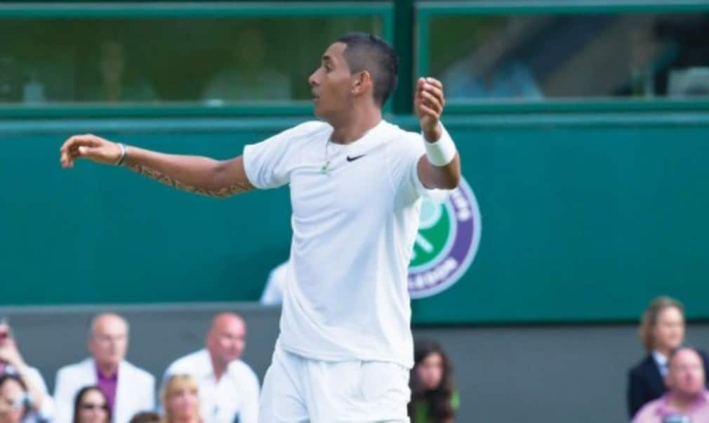 Tennishead's 2014 review continues with a look a slice of luck during Nick Kyrgios's Wimbledon dream.