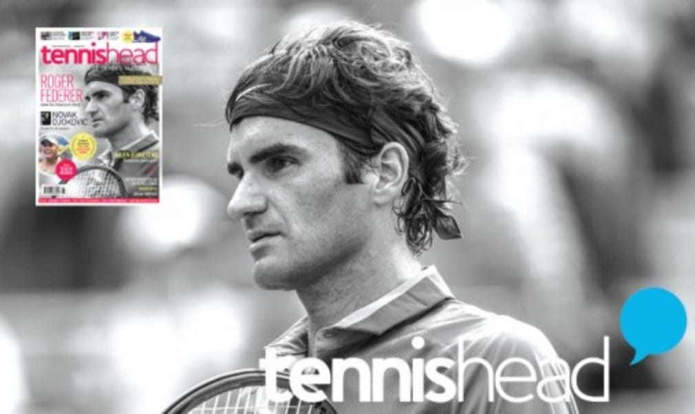 The new issue of tennishead is on sale now
