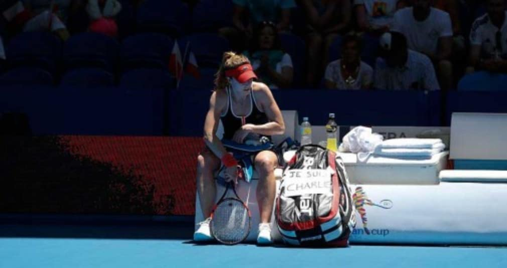 Alize Cornet and Agnieszka Radwanska are growing used to contesting close encounters in Perth. Twelve months ago the Frenchwoman and the Pole met in the Hopman Cup final