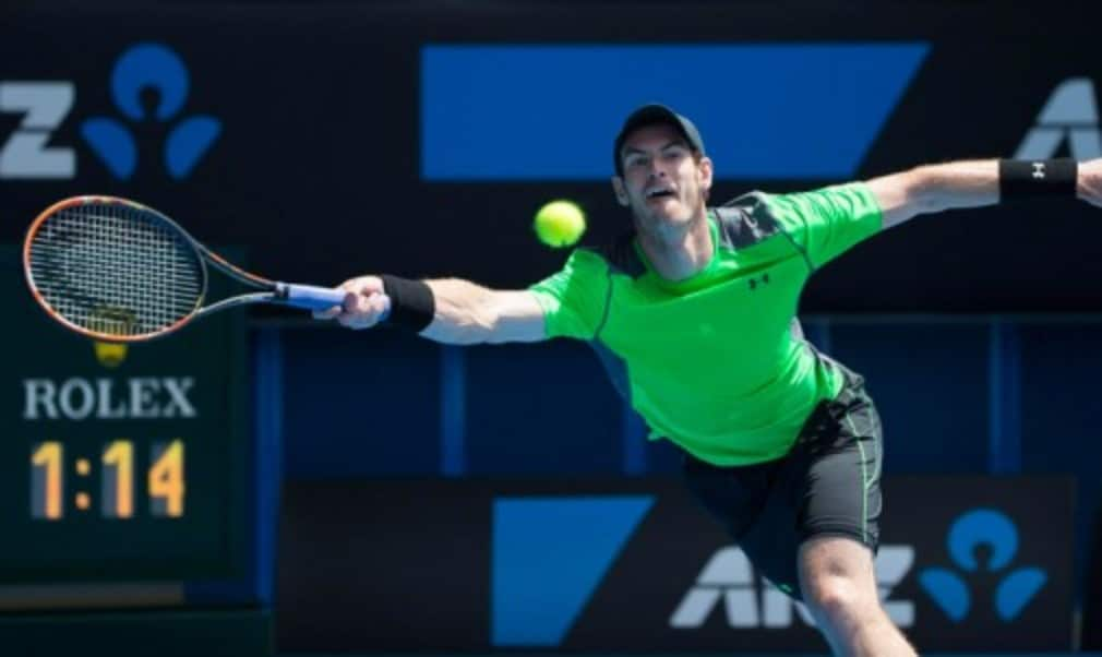 There are more than 300 ranking places between Andy Murray and Yuki Bhambri