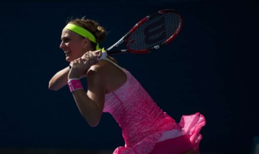 Petra Kvitova believes the hard work in the off-season is paying dividends as she bids to reach the fourth round at the Australian Open